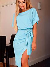Vestido Judith - Azul Claro