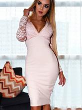 Zora Dress - Nude