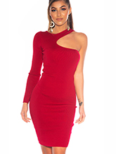 Carmen Dress - Red